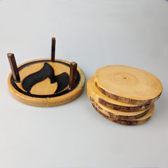 Wooden Coasters - Set of 4