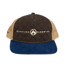 Bonfire Quilted Cap