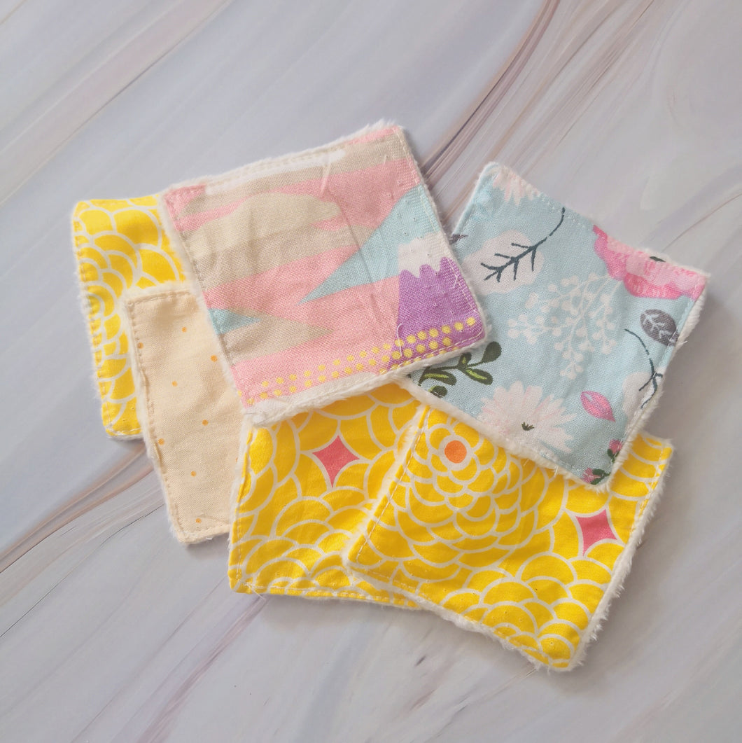 Imperfects: Reusable Facial Squares