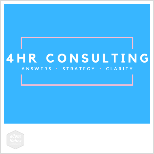4 Hour Consulting Package