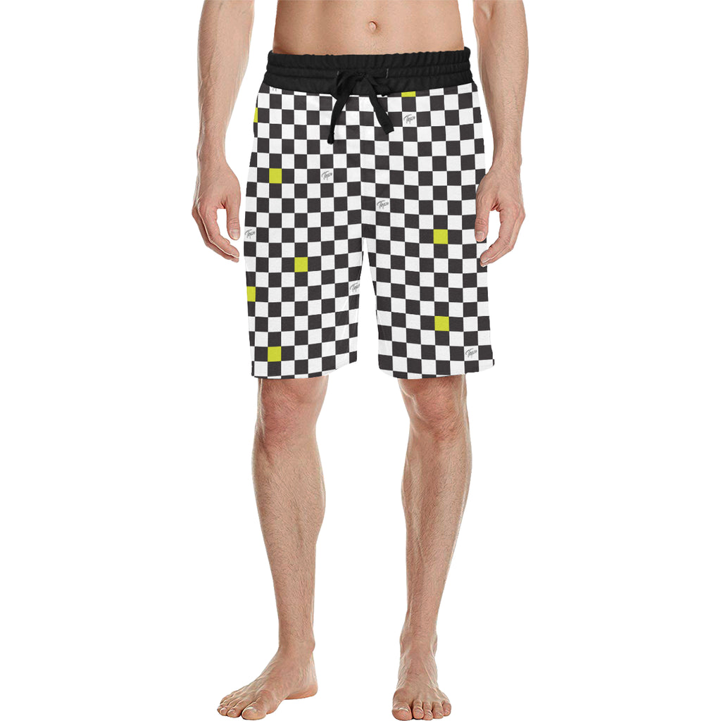 CHOPPER SHORTS - CHECKERBOARD SLIME