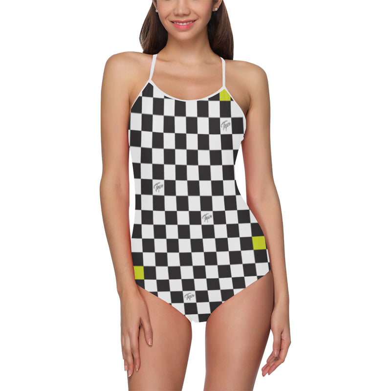 SWEEPER ONEPIECE - CHECKERBOARD SLIME