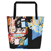 PARADISE BEACH TOTE - BAY TAGGER