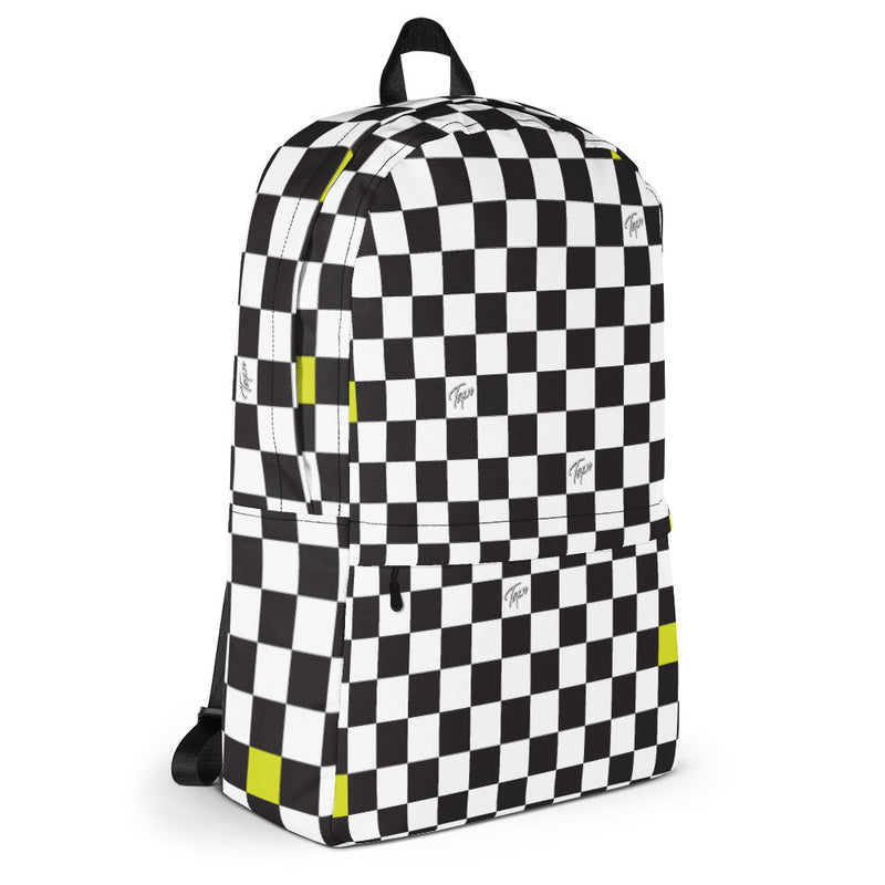 CRUISE BACKPACK - CHECKERBOARD SLIME