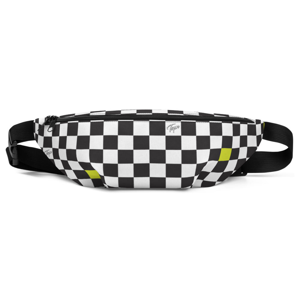 PELICAN BELT BAG - CHECKERBOARD SLIME