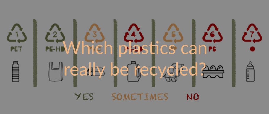 Which plastics can really be recycled?