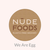 Daily peach at the nude food in we are egg compostable cotton rounds