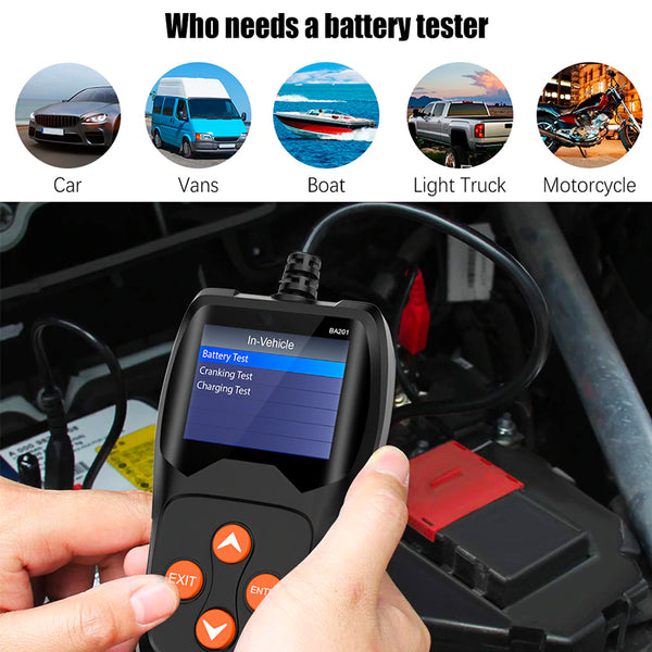 Car Battery Tester - Elicpower