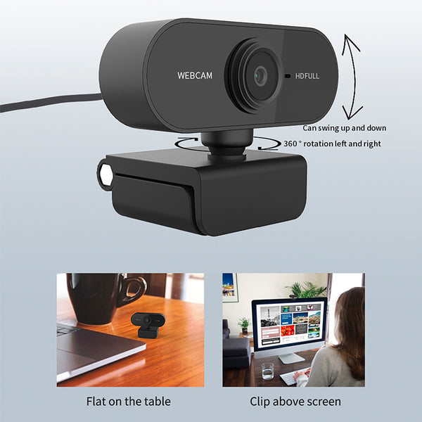 HD Computer Webcam - Elicpower