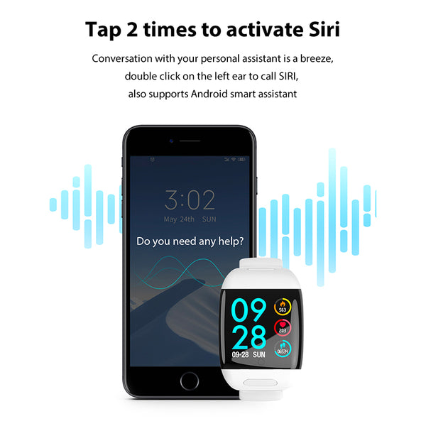 Smartwatch With Earbuds - Elicpower
