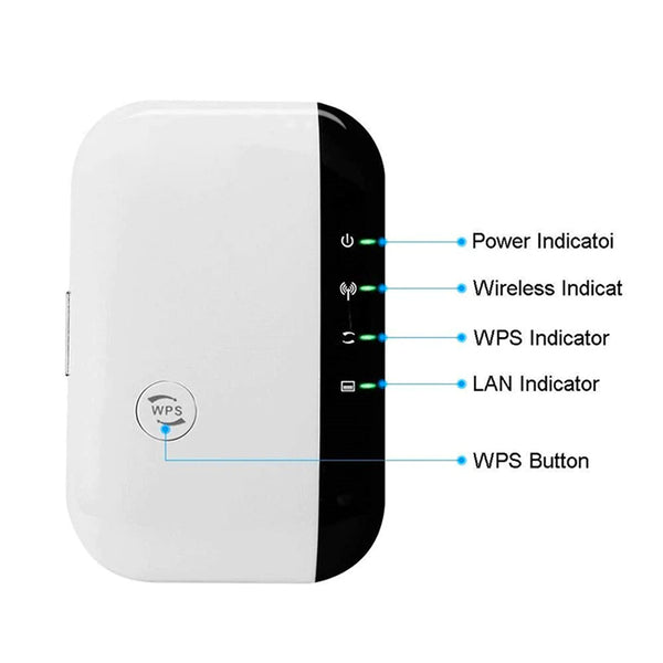 Wireless Wi-Fi Repeater - Elicpower