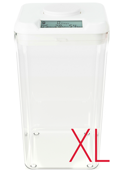 kSafe XL: (White Lid + Clear Base)