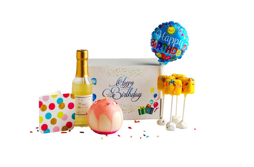 birthday gift set / balloon gift set