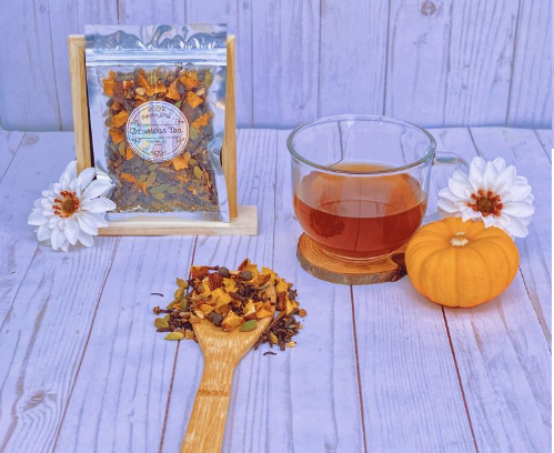 Pumpkin and Tea Candle Set