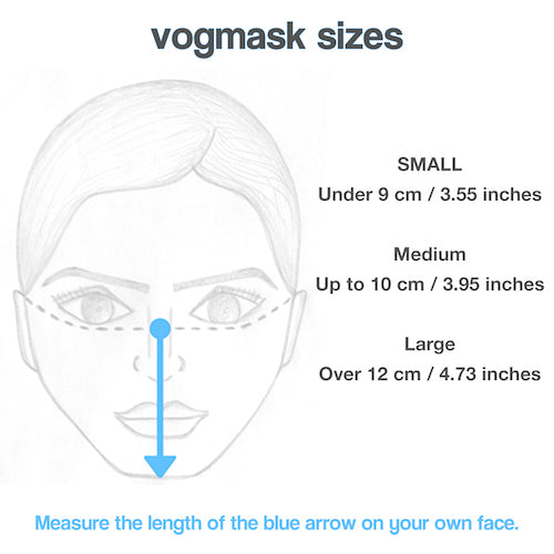 WHAT SIZE VOGMASK SHOULD I ORDER? background