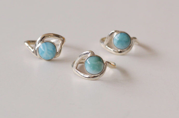 Larimar Ring, Wave