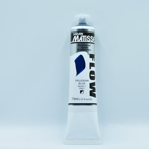 Matisse Acrylic Paint (Prussian Blue)