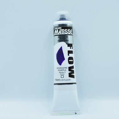 Matisse Acrylic Paint (Dioxazine Purple) - Health of Mind Art
