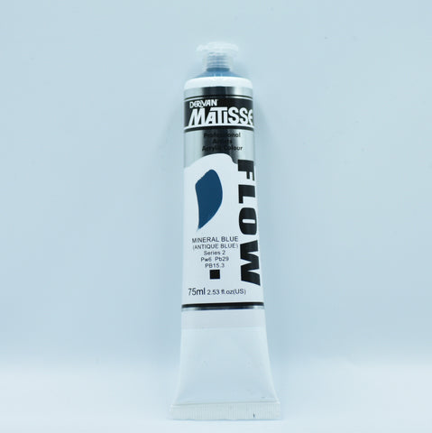 Matisse Acrylic Paint (Mineral Blue)