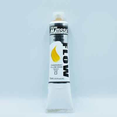 Matisse Acrylic Paint (Yellow Oxide) - Health of Mind Art