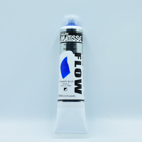 Matisse Acrylic Paint (Primary Blue)