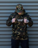 "Camo Hoodie - ""Win The Morning, Win The Day"""