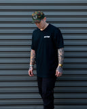 PATCH TEE WTM NAVY