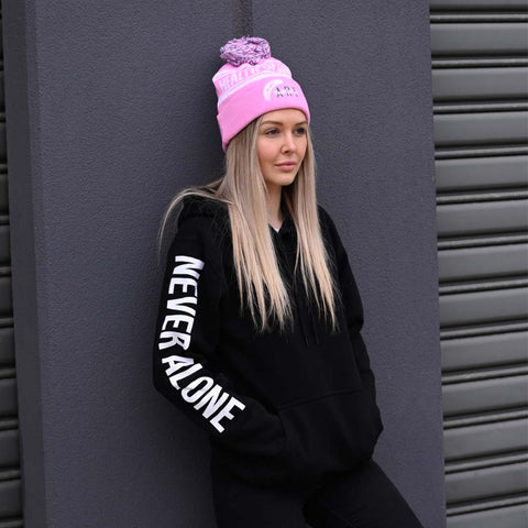 Limited Edition Never Alone Hoodie (Black)