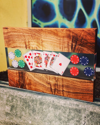 Poker board( made to order )