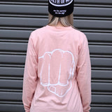Long Sleeve Tee (Pink)