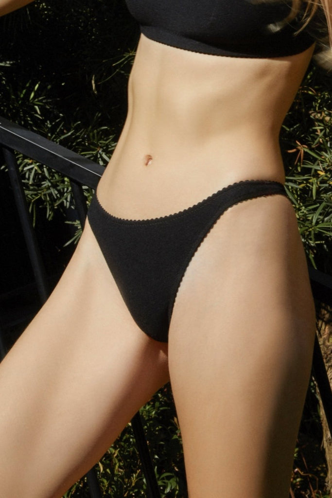 Blair G String Bottoms in Black