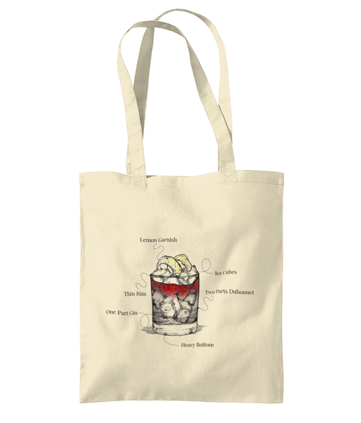 G and D Recipe Tote Bag