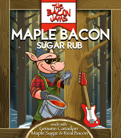 Bacon Infused Maple Sugar