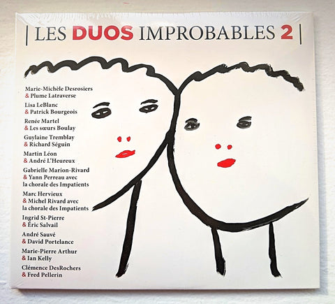 CD-- Les duos improbables vol.2