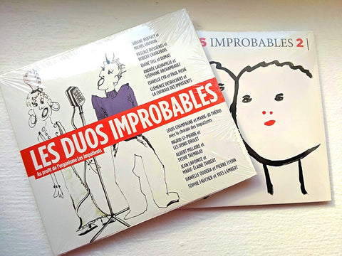 CD-- Ensemble Duos improbables vol 1 et 2