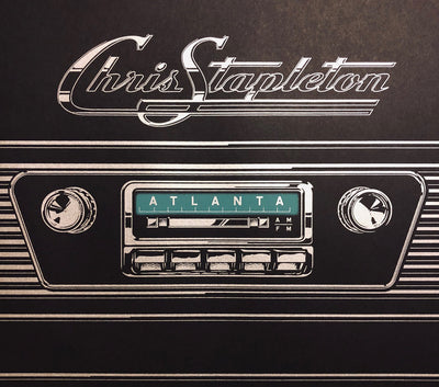 Chris Stapleton Atlanta Gig Poster