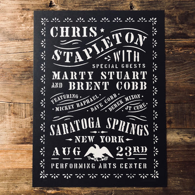 Chris Stapleton Saratoga Springs