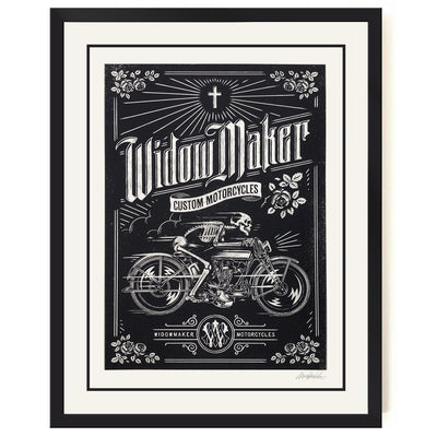 Widow Maker Poster