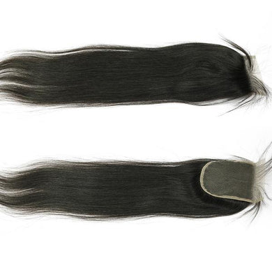 Silky Straight Virgin Lace Closure
