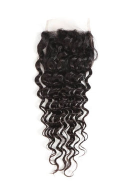 Deep Curly Virgin Lace Closure