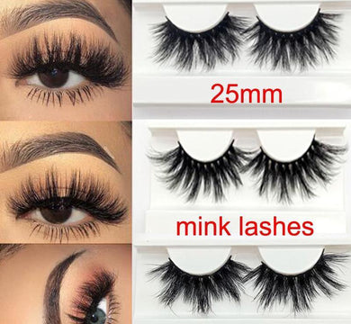 3D 25 MM Glam Mink Eyelashes