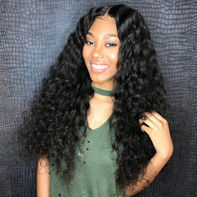 Loose Wave Virgin Lace Closure Wig