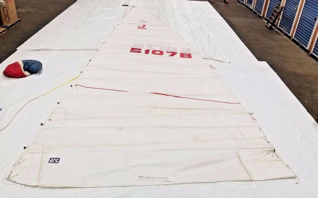Main Sail by UK Sailmakers for J105 in Good Condition 39.9' Luff