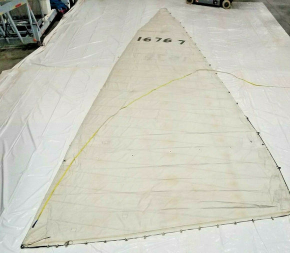 Dacron Main Sail in Fair condition 40.3' luff