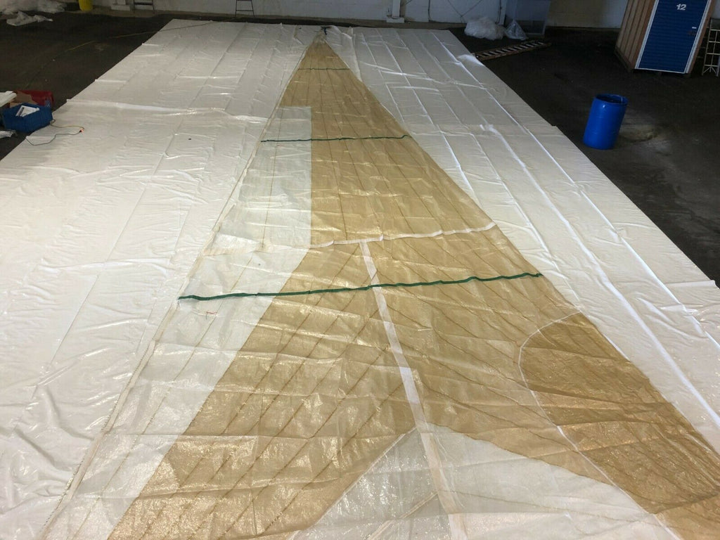 Light Air Staysail by North Sails in Good Condition 64.8' Luff