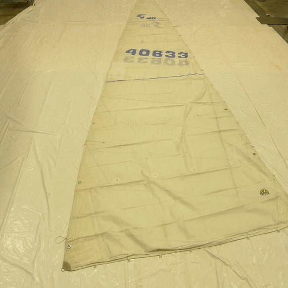 Dacron Main Sail by Doyle for Sabre 36 in Fair Condition 39.9' Luff