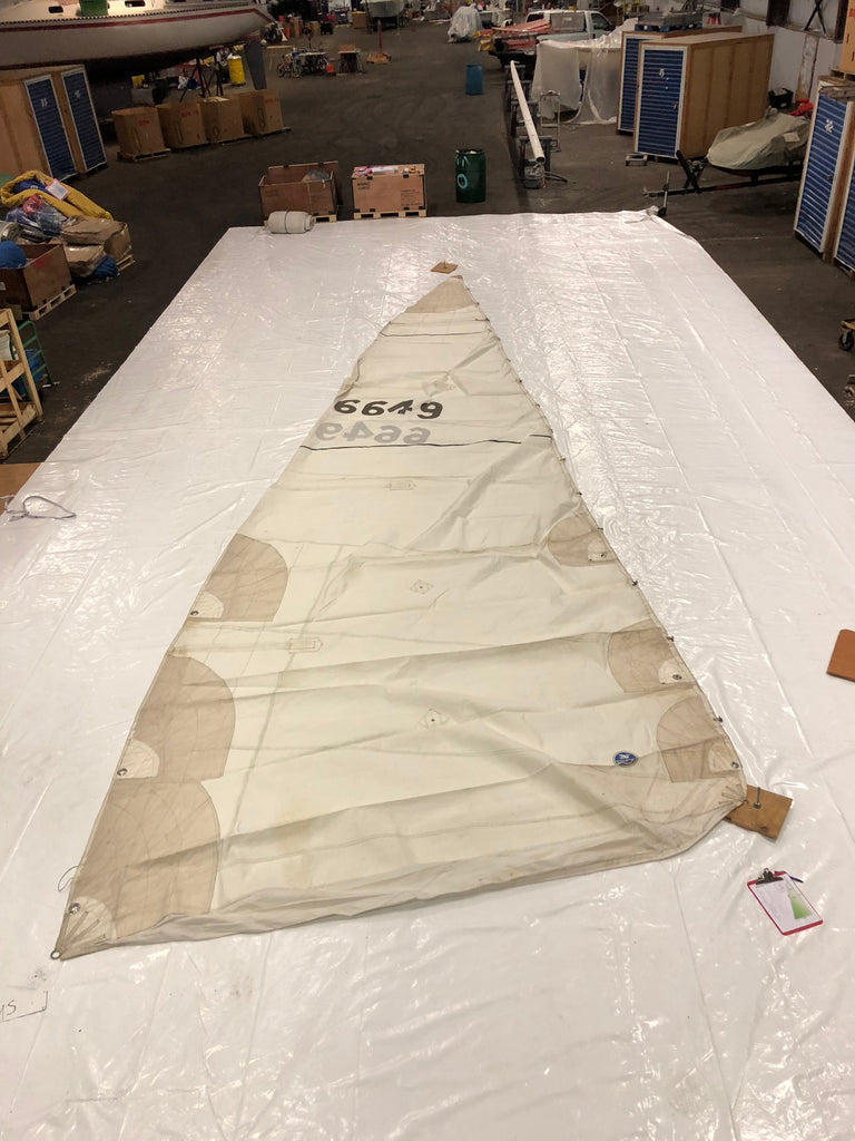 Mainsail by North Sails Fair Condition - 34' Luff