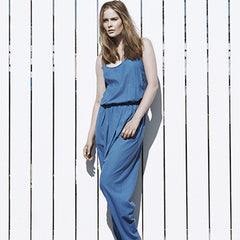 Pleat jumpsuit
