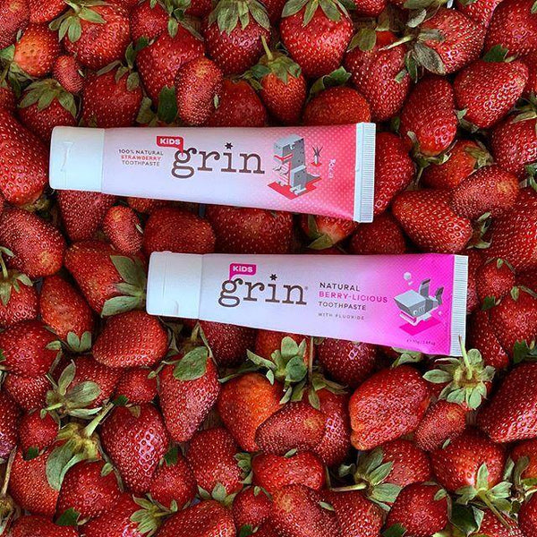 Grin 100% Natural Kids Toothpaste 70g