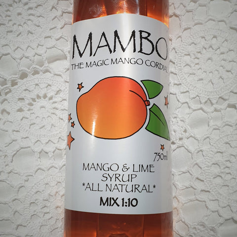 Mambo - The Magic Mango Cordial 750ml